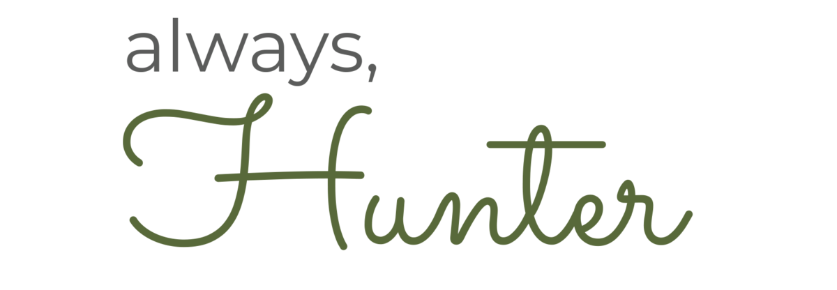 Always Hunter Logo 7