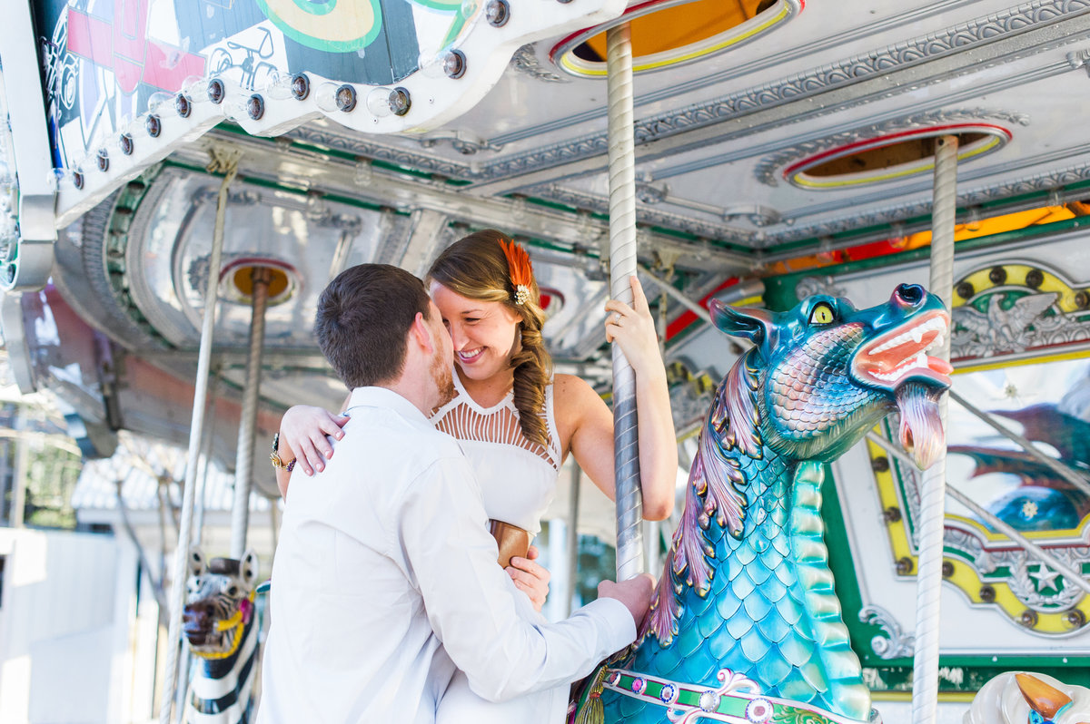 Colorful Florida Destination Engagement
