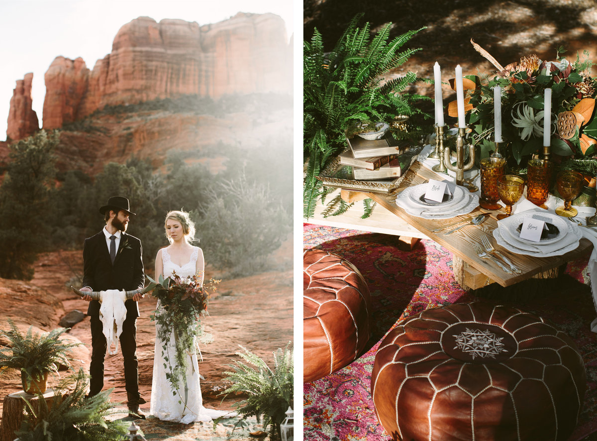 Cathedral Rock Sedona Elopement Photographer
