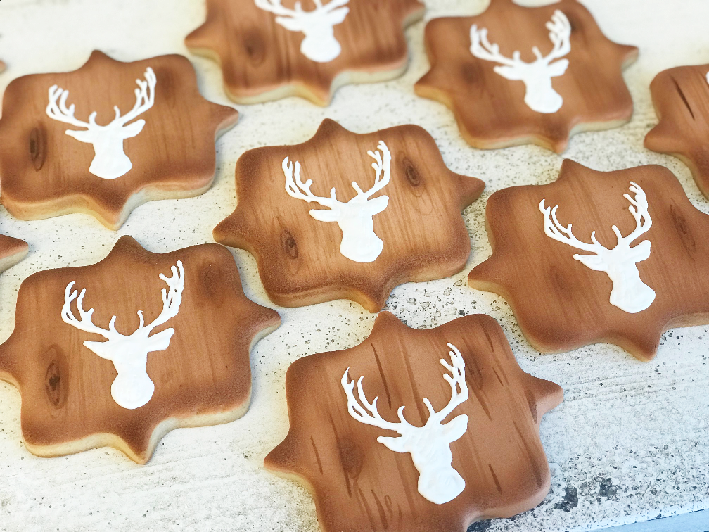 Whippt Desserts - Holiday Sugar Cookies 2017 Deer