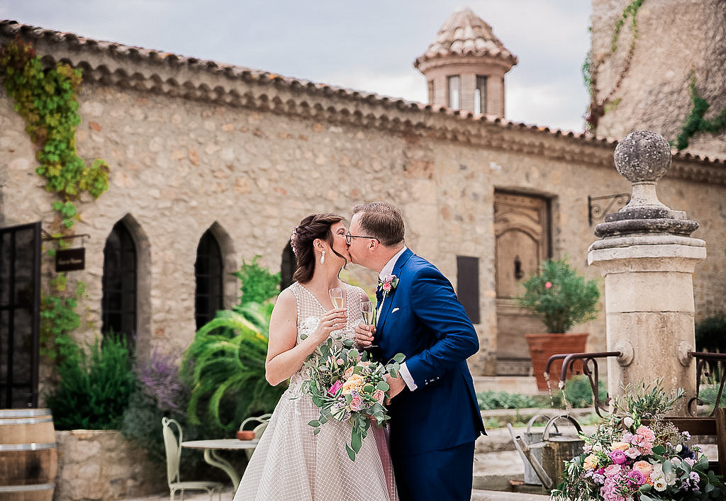 Wedding in Provence in  Chateau de Berne