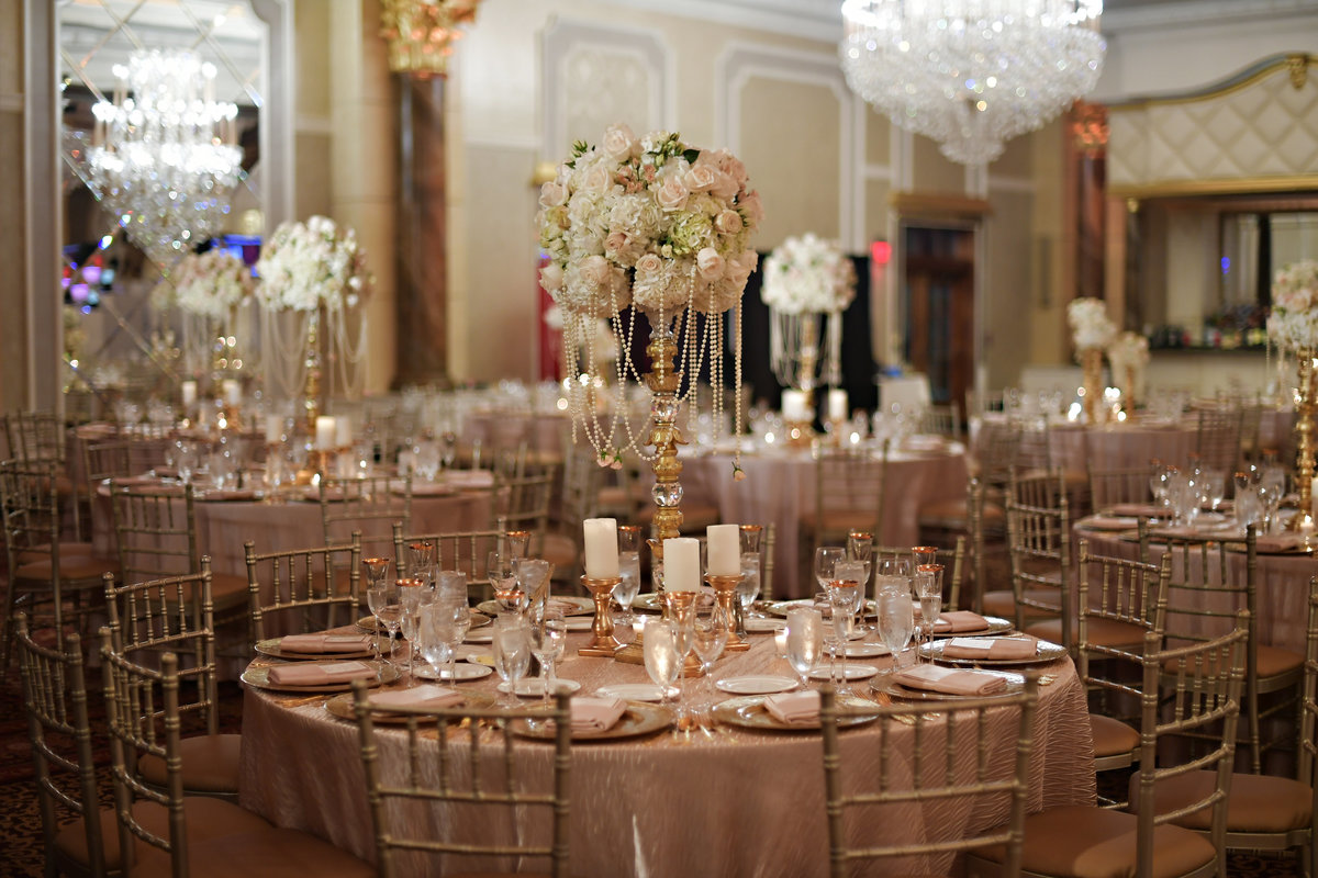 blush pink gold ivory vintage wedding venetian new jersey event designer 16
