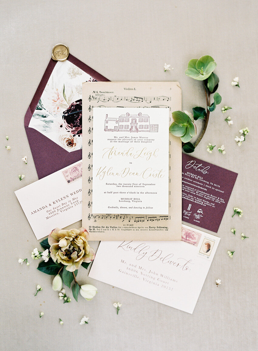 pirouettepaper.com | Wedding Stationery, Signage and Invitations | Pirouette Paper Company | Invitation Styling and Flatlays | Sposto Photography 058