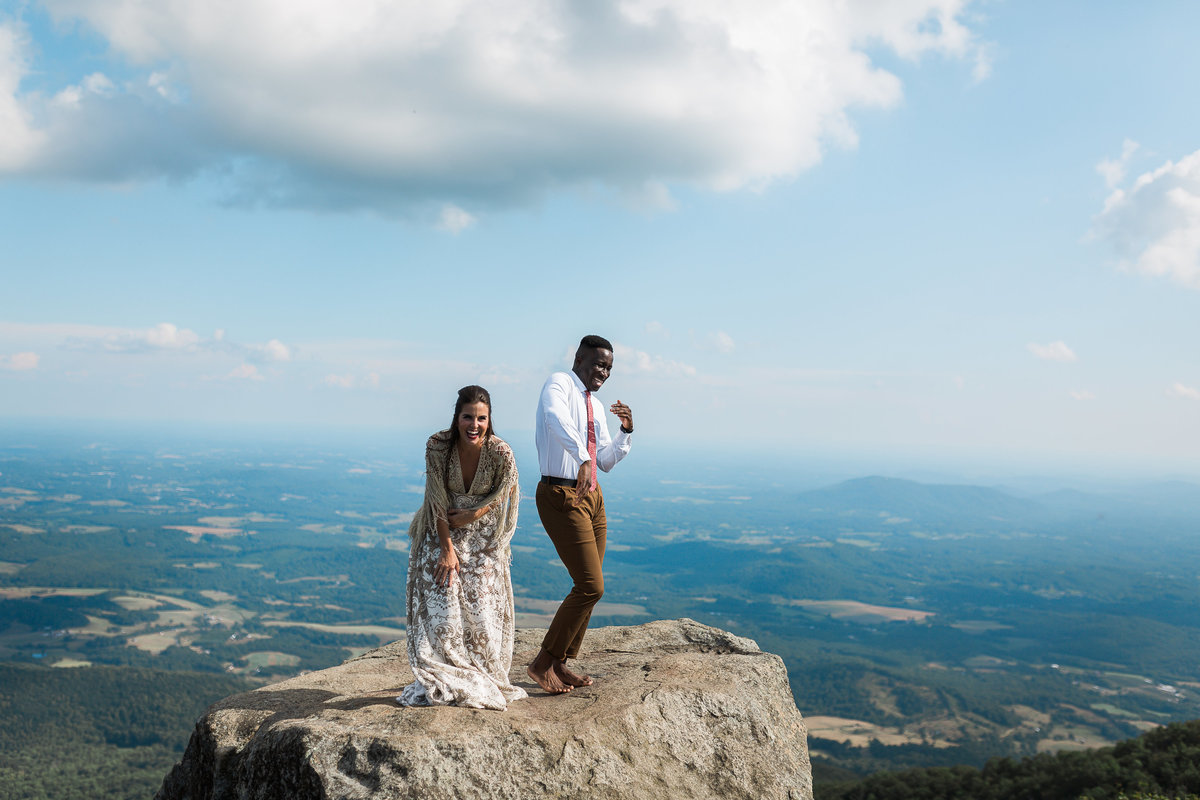 Top NC Mountain Elopement Photographer