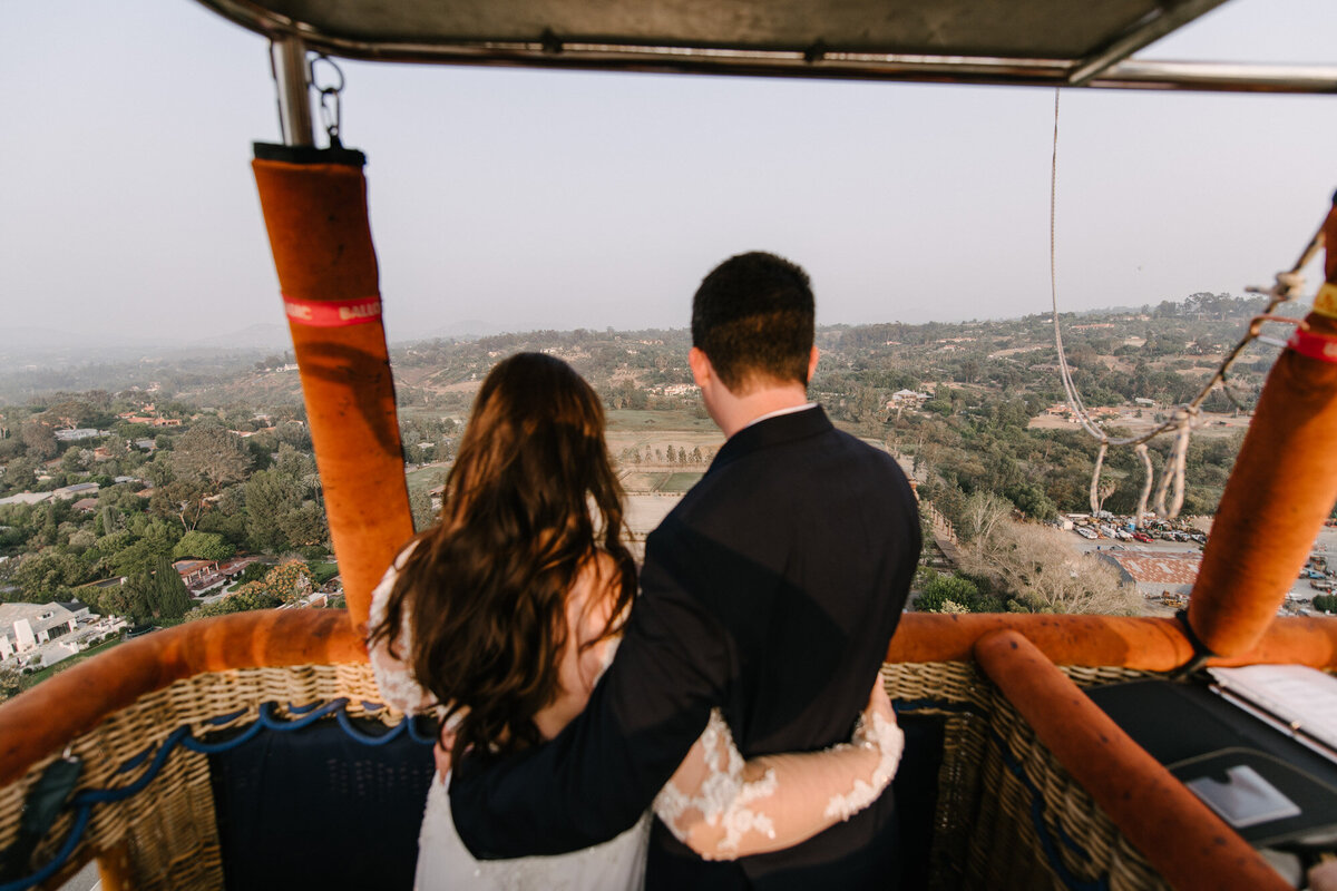 Hot Air Balloon Elopement Marie Monforte Photography-115