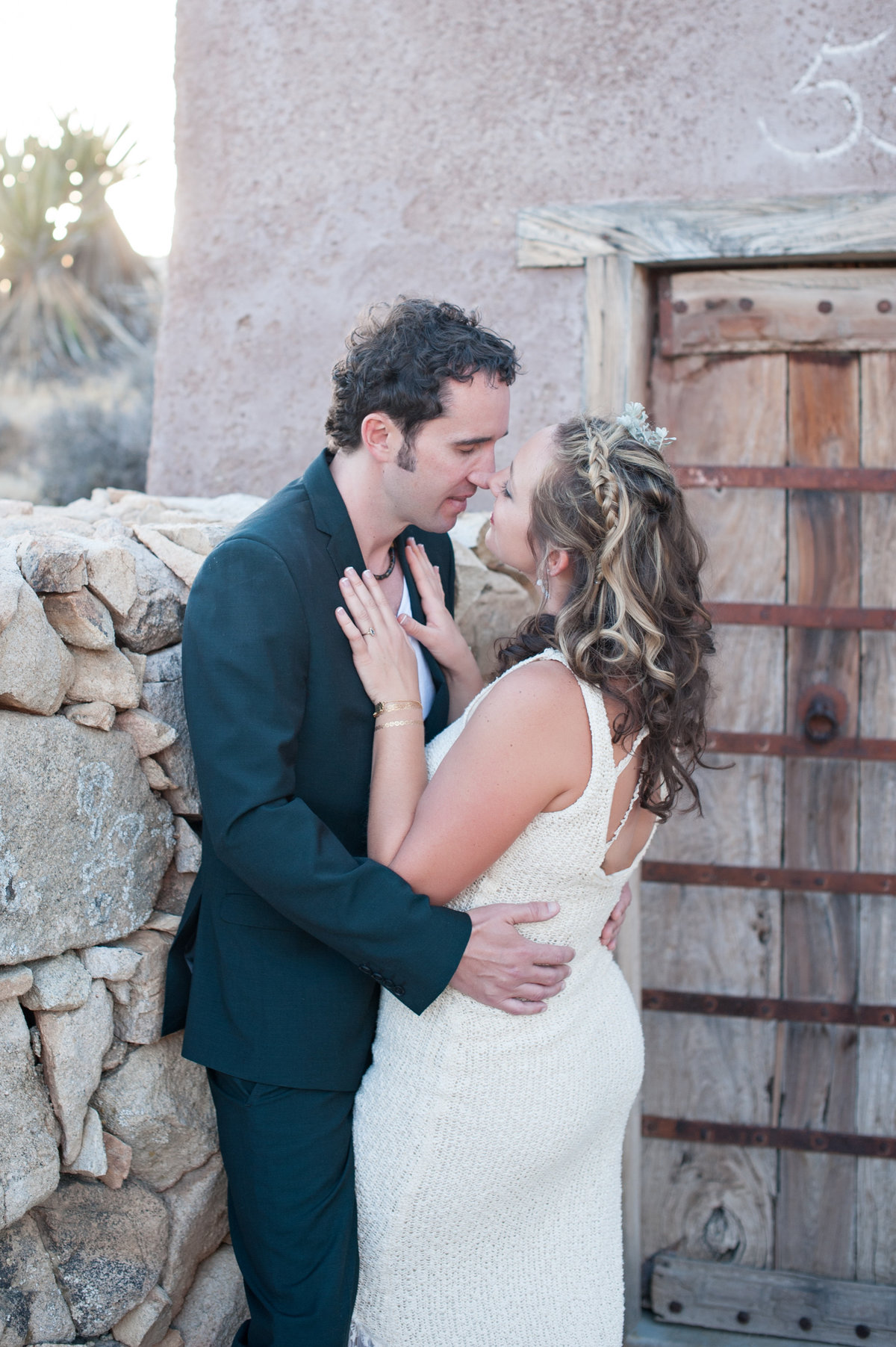 Destination Wedding Photography Joshua Tree Wedding Photography Le Haut Desert Aerie081