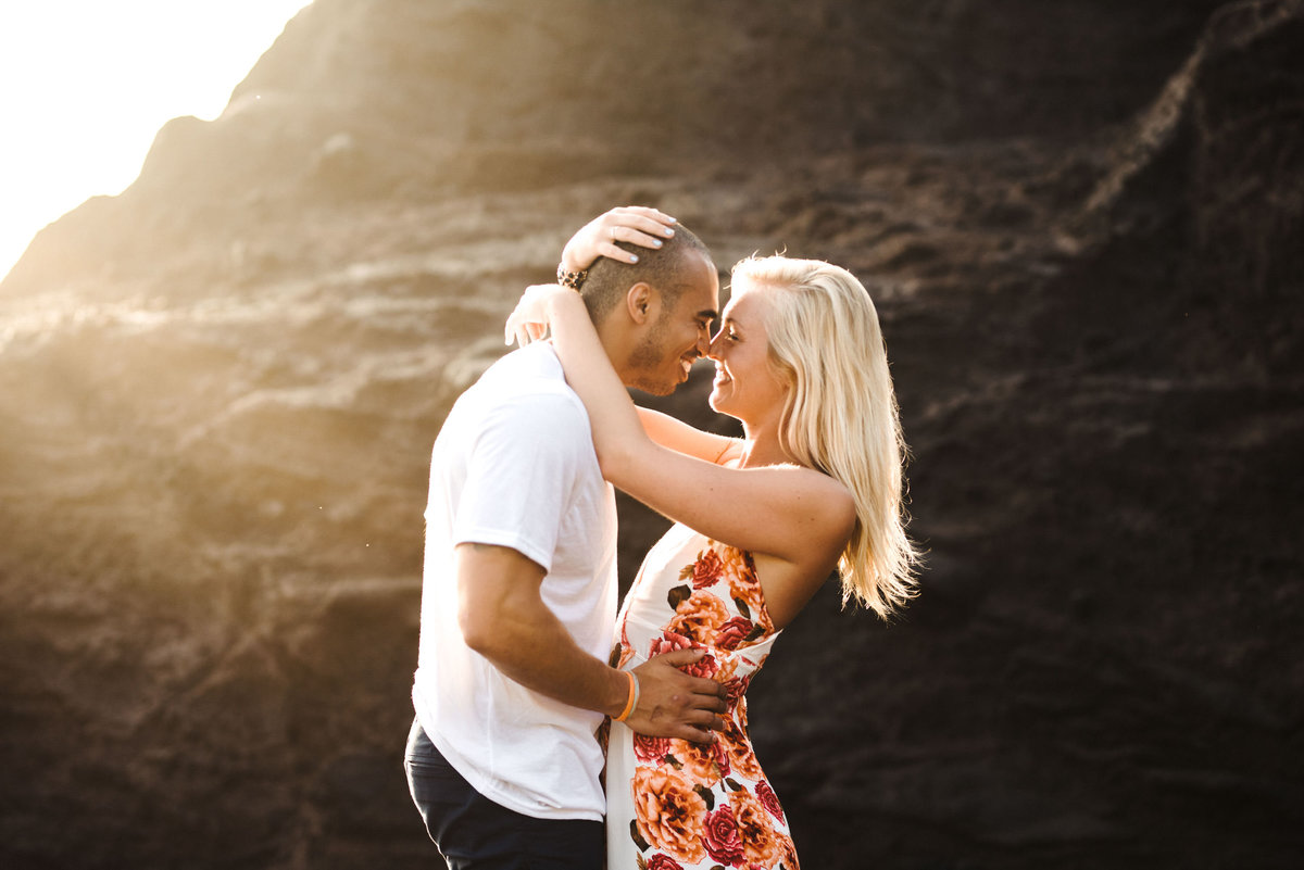 Eternity Beach Honolulu Hawaii Destination Engagement Session - 32