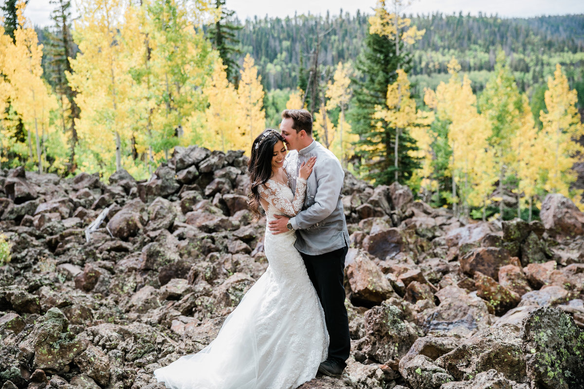 Navajo Lake Utah Wedding - Utah Wedding Photographer - Ivette West Photography