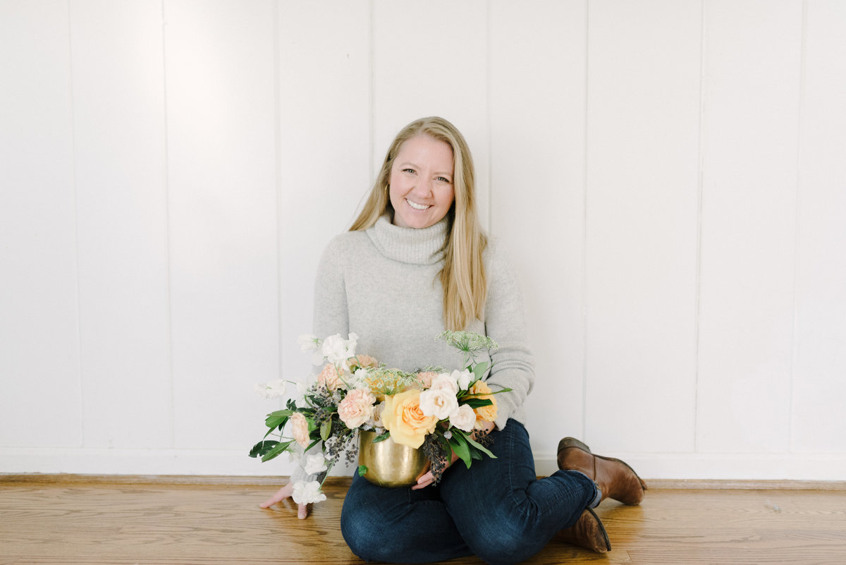 Of the fields floral design personal branding session