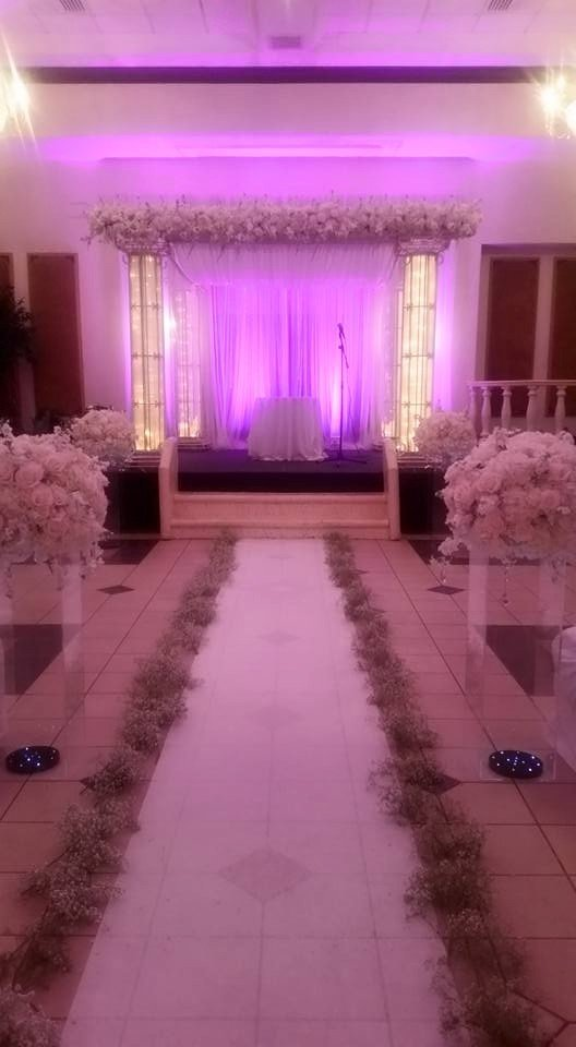 Signature Grand luxury all white wedding