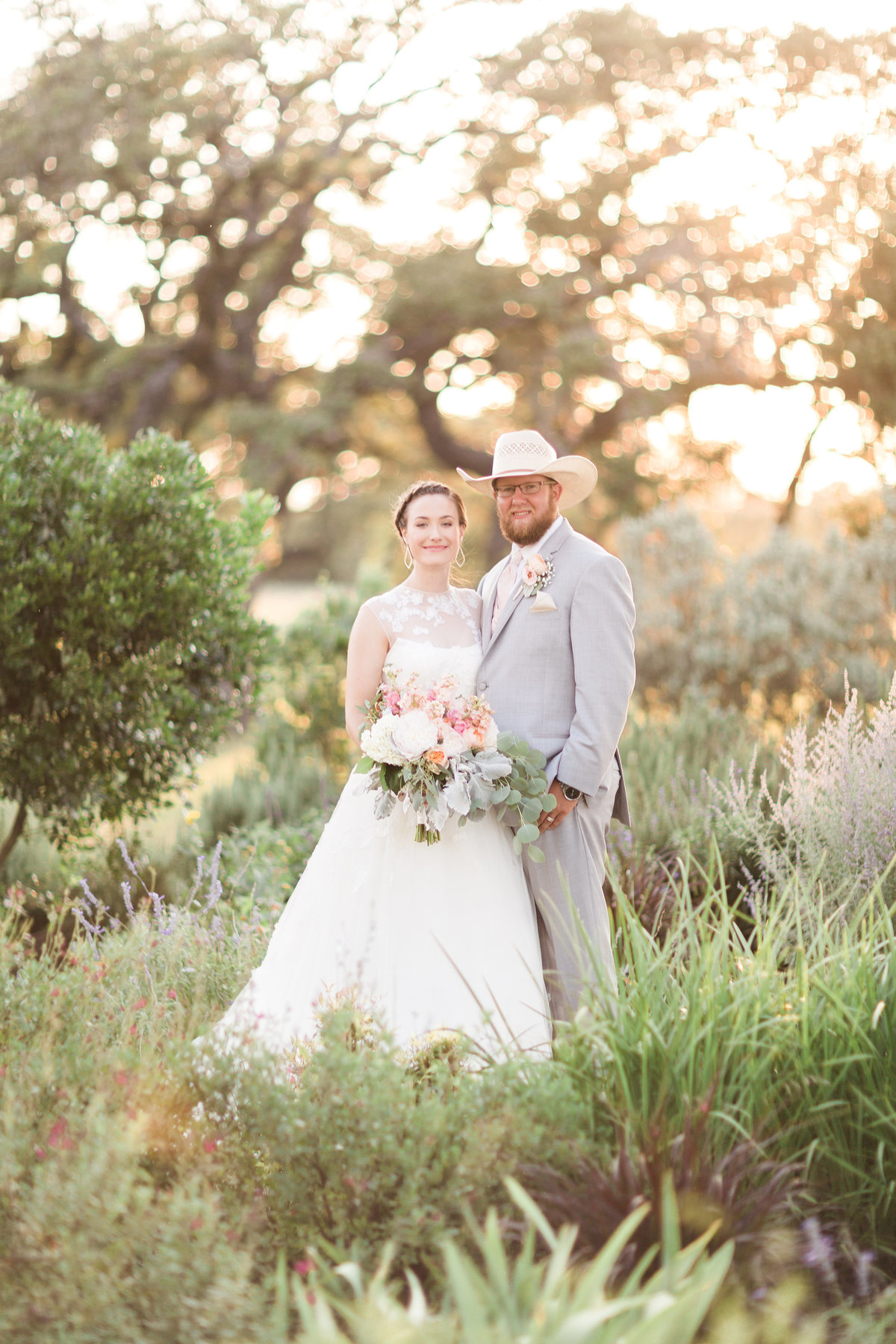 Kairos Celebration Barn Wedding Sunset Portrait