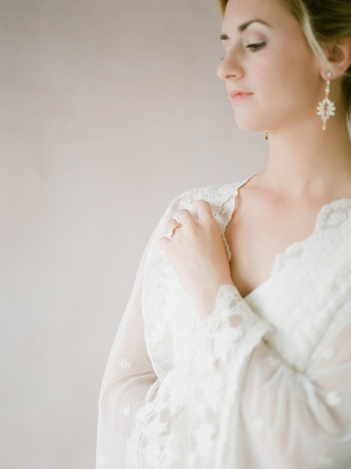 Fine Art Bridal Portraits - Sarah Sunstrom Photography - Film Wedding Photographer - 33
