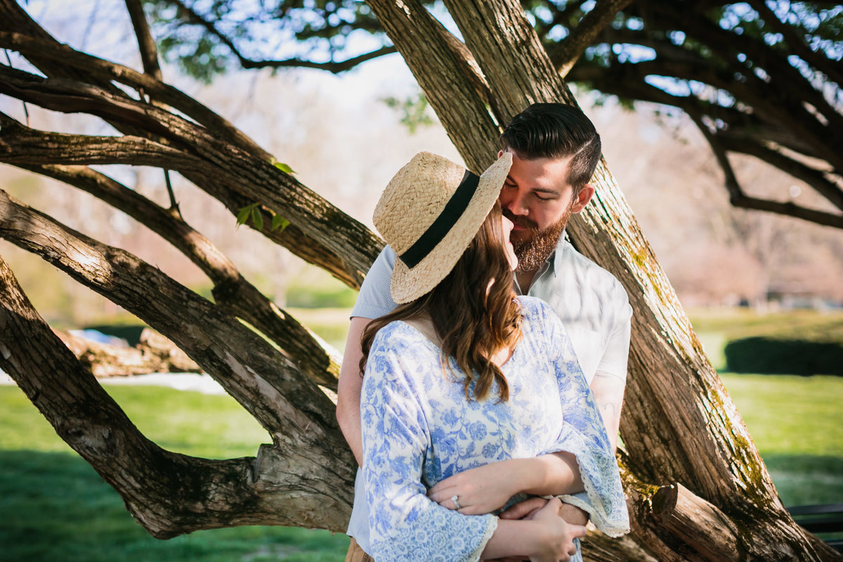 Andrea and Joe - Holcomb Gardens-8