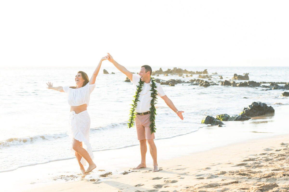 maui beach vow renewal