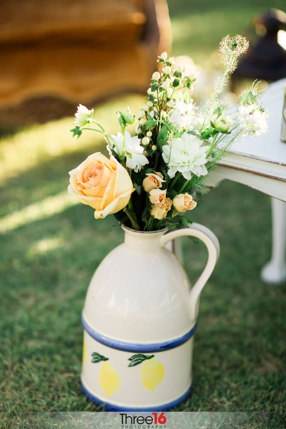 Beautiful roses at the Mount Palomar Winery Wedding Venue