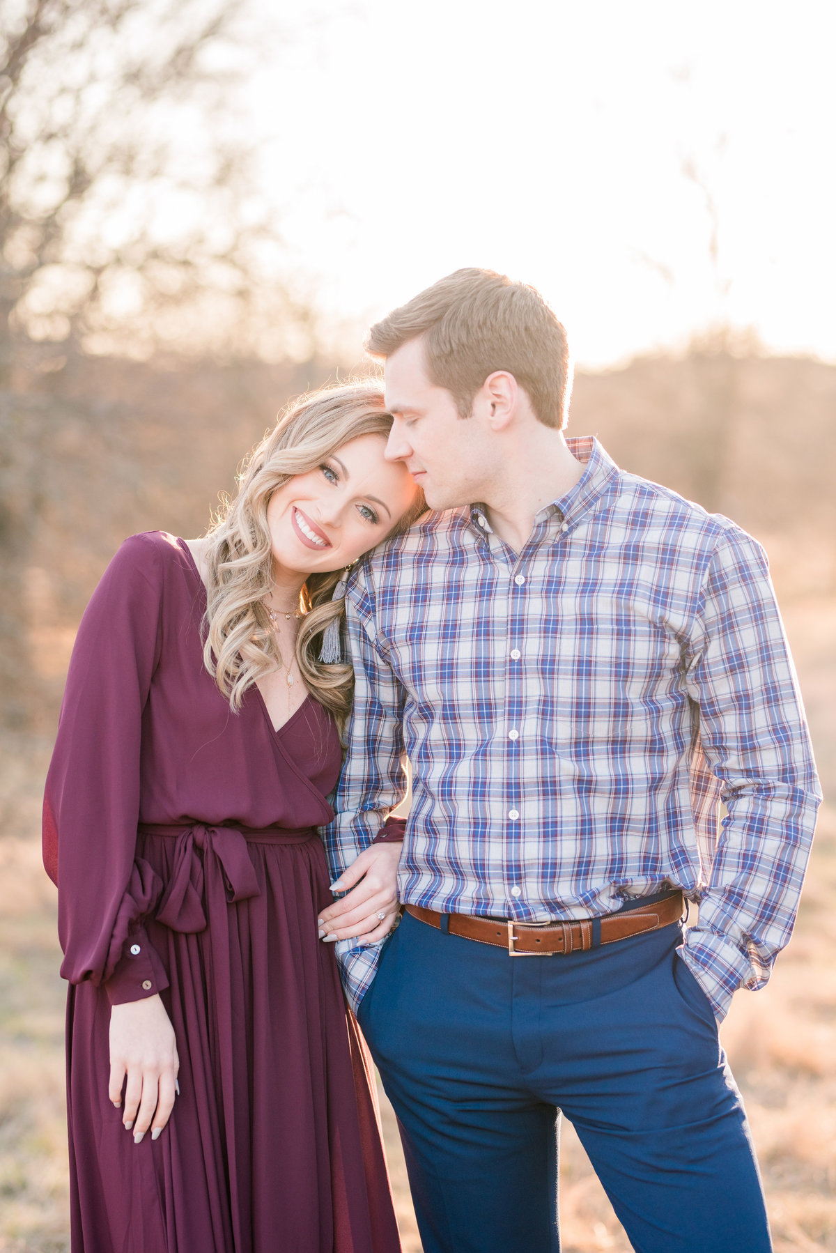 Dallas Engagement Photography at Arbor Hills