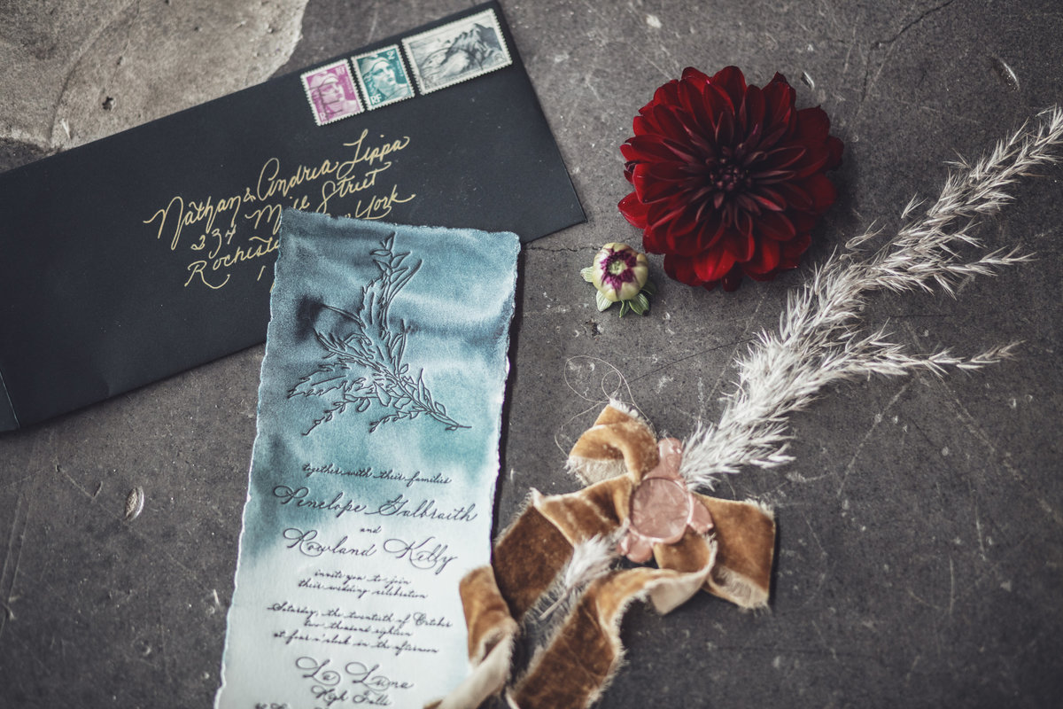 Jewel Toned Boho Fall Wedding Inspiration - Rochester, NY - Verve Event Co (12)