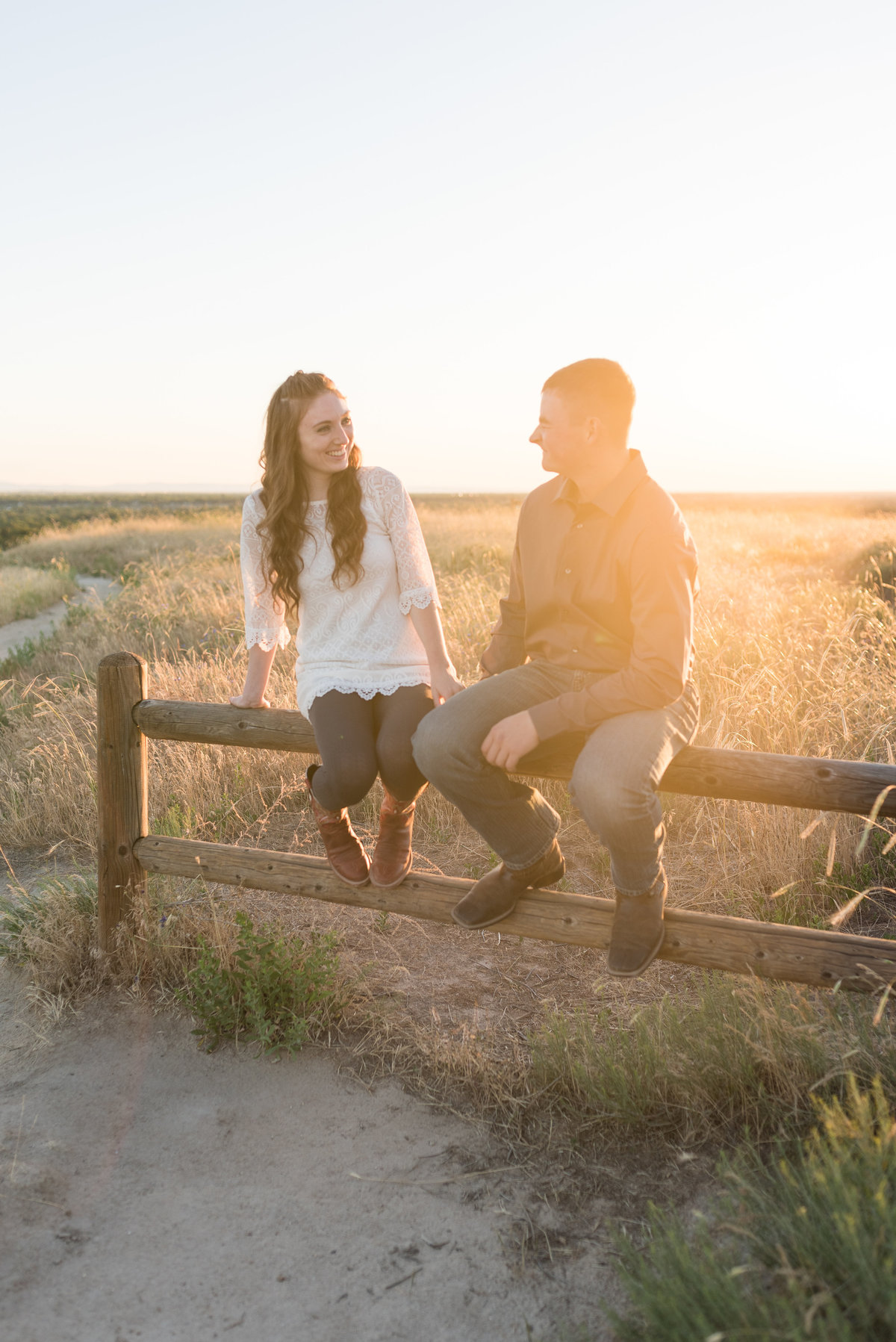 Spring Boise Foothills Engagement Shoot11