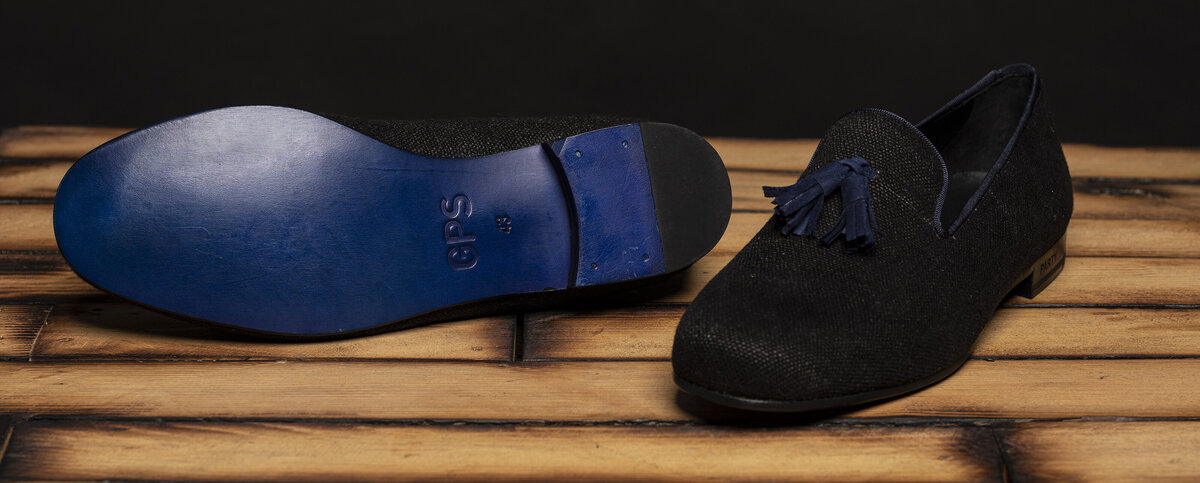 gps-party-black-linen-loafers-blue-tassels