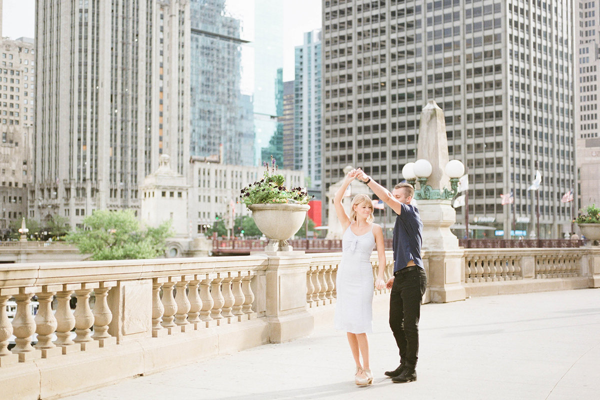 Chicago Wedding Photographer - Fine Art Film Photographer - Sarah Sunstrom - Sam + Morgan - Engagement Session - 5