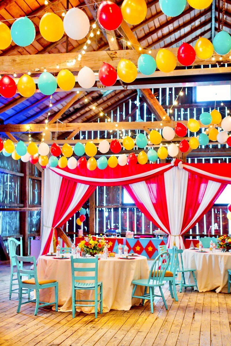 Circus Themed 1st Birthday Indianapolis Party Planner_0052