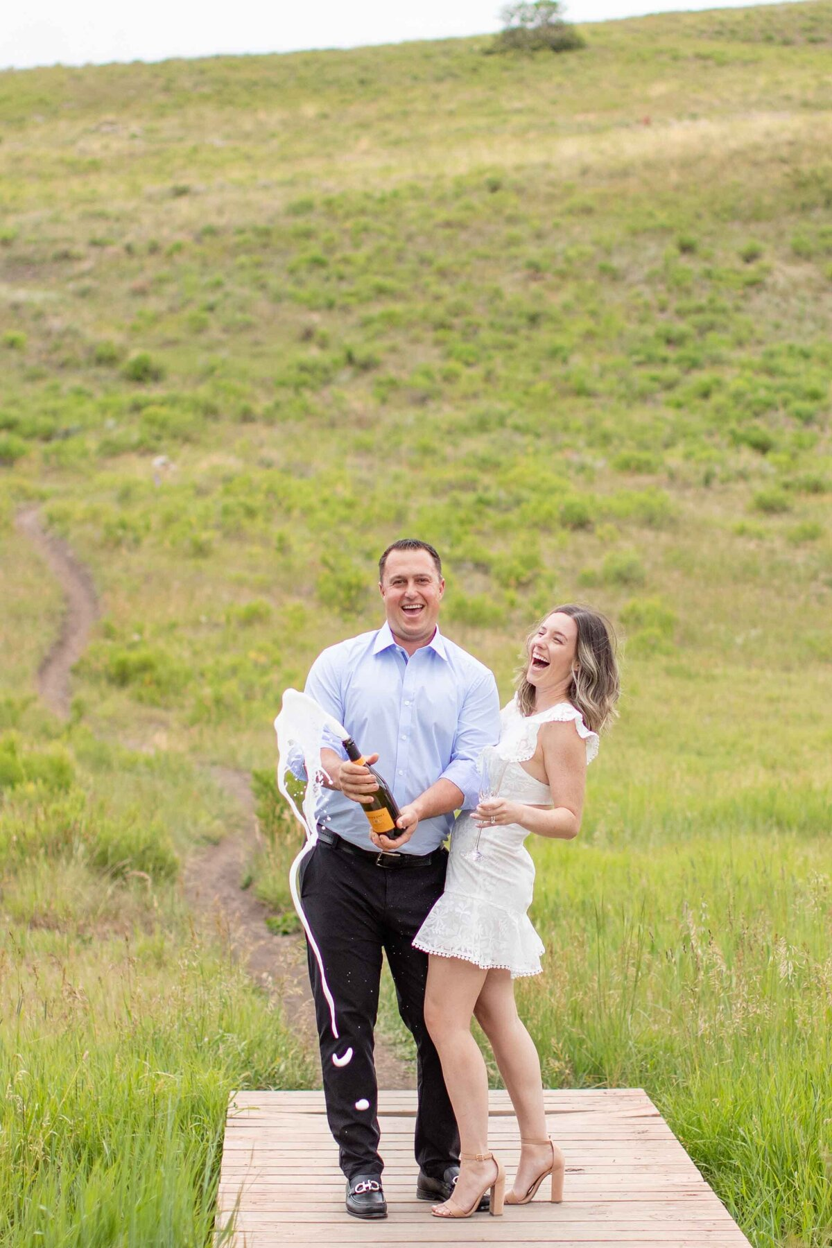 engagement session in telluride