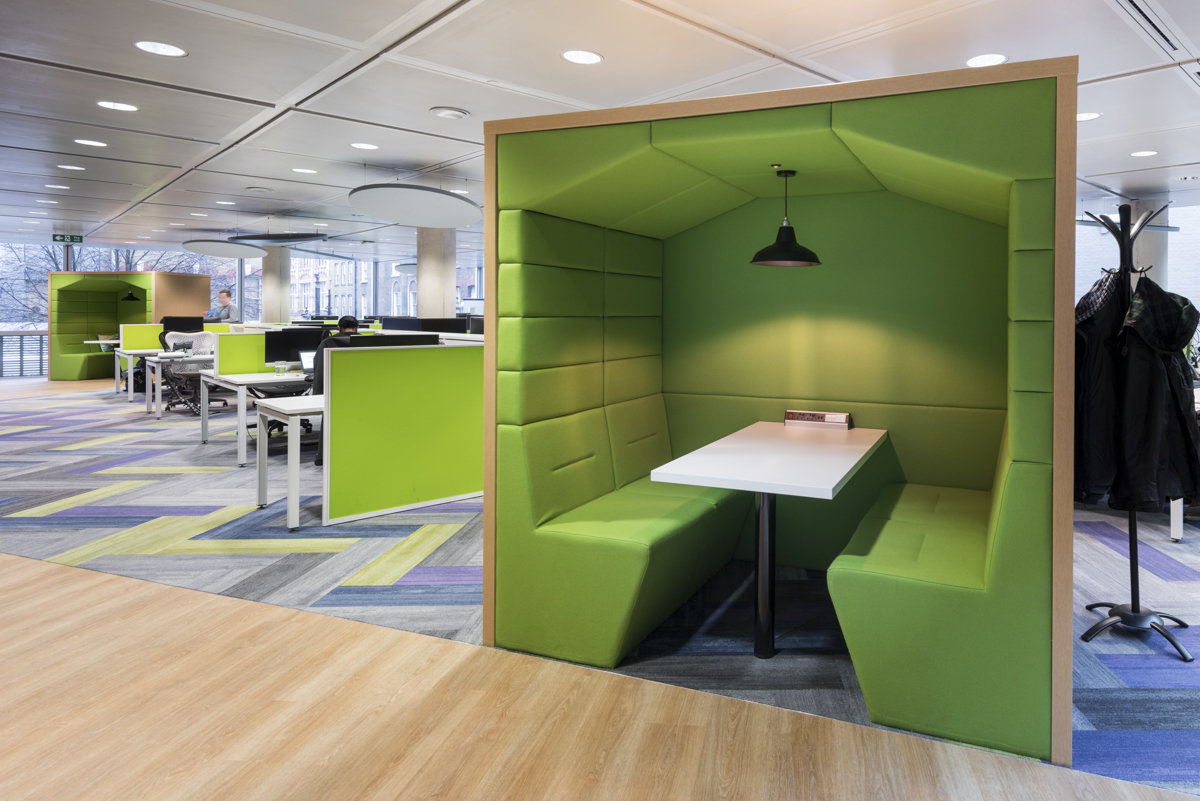 office booths london interior design