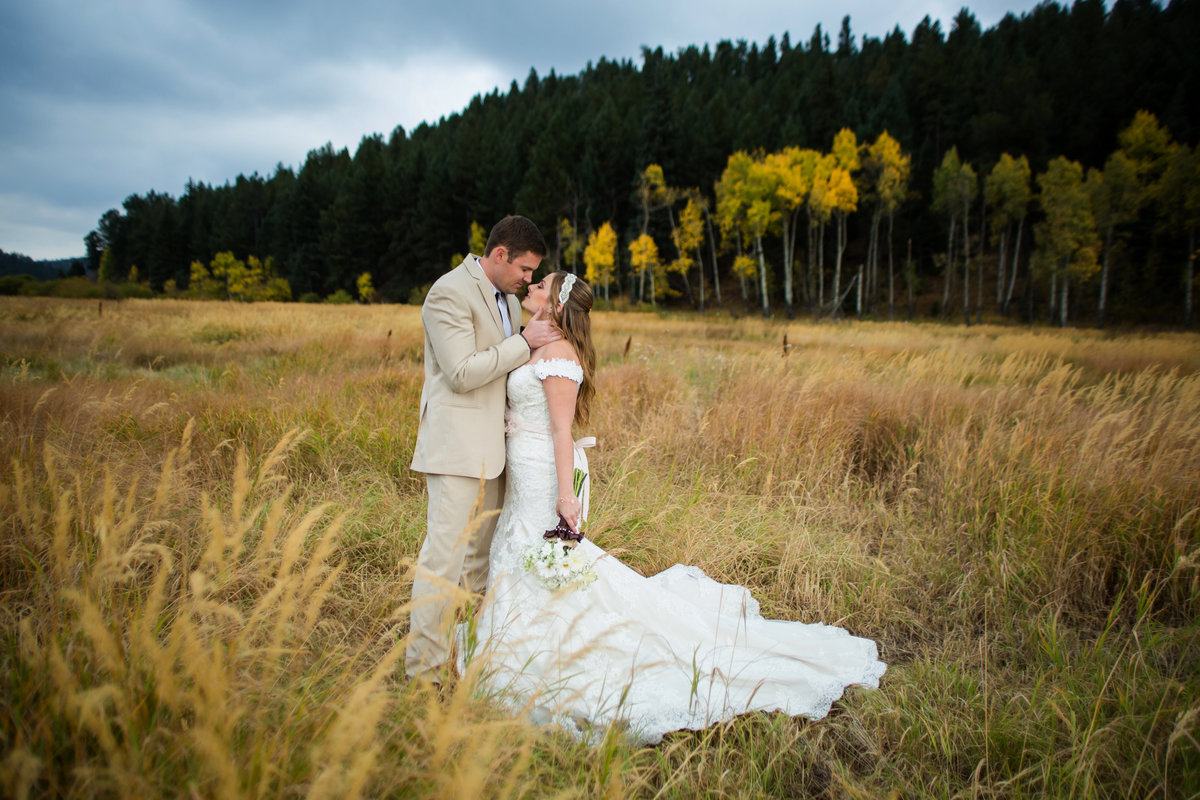 fall wedding at Deer Creek Valley Ranch