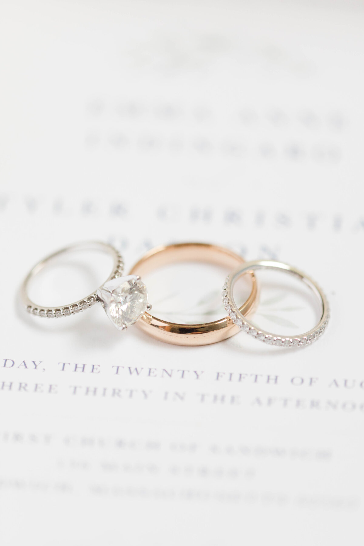 Wedding Rings from Destination Wedding in cape cod Massachusetts by costola photography