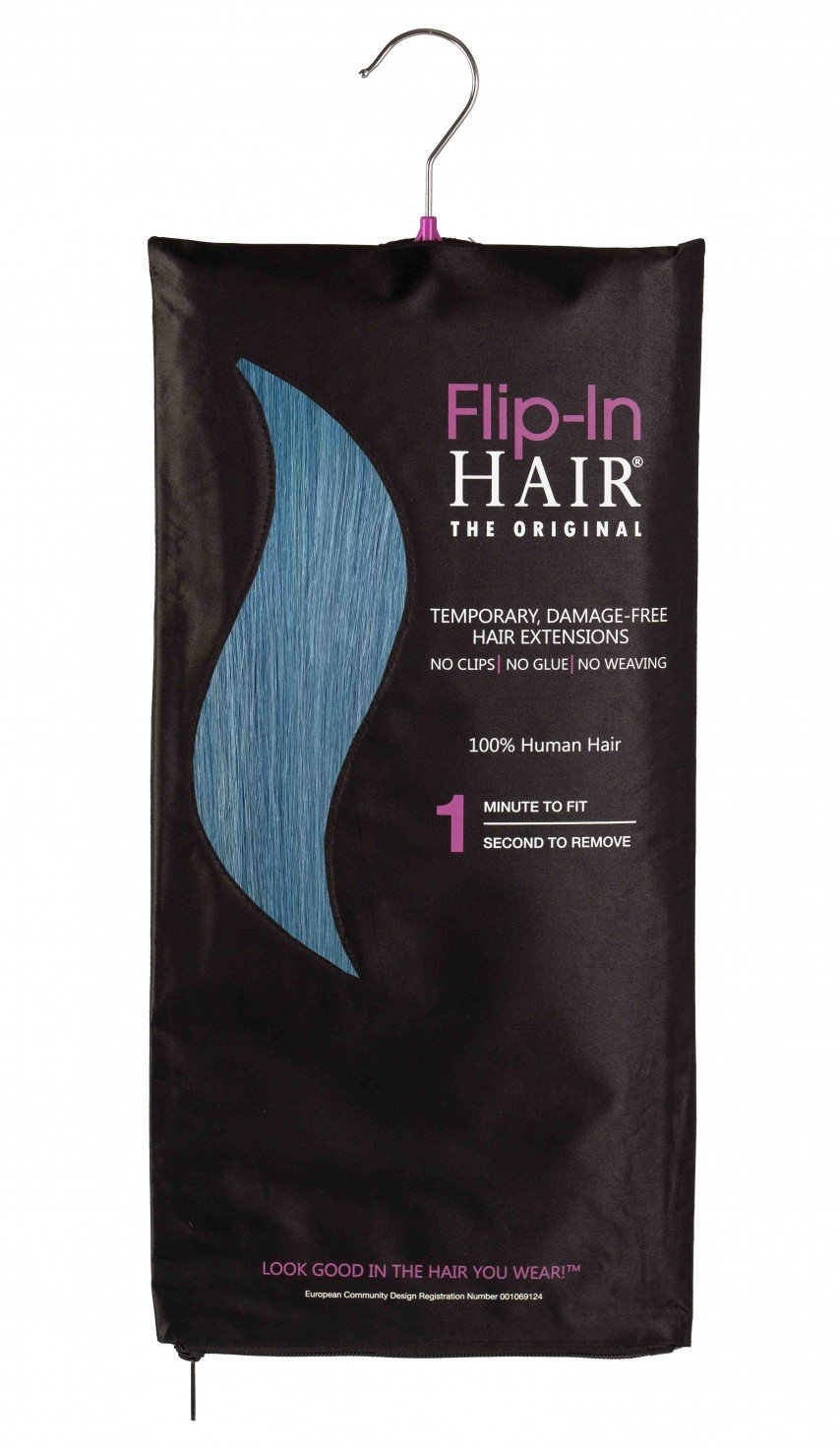 Flip-In Hair Original Turquoise