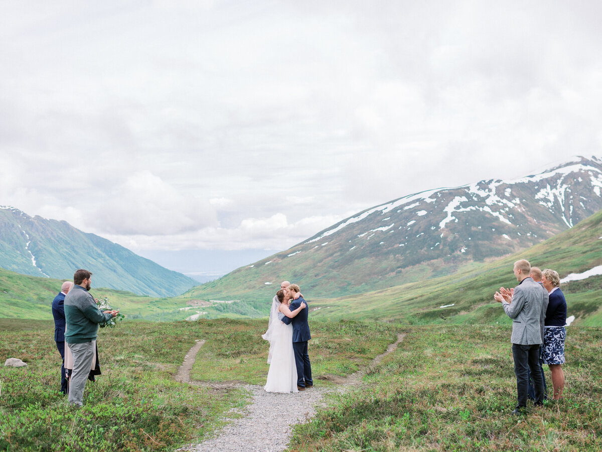 Hatcher Pass elopement