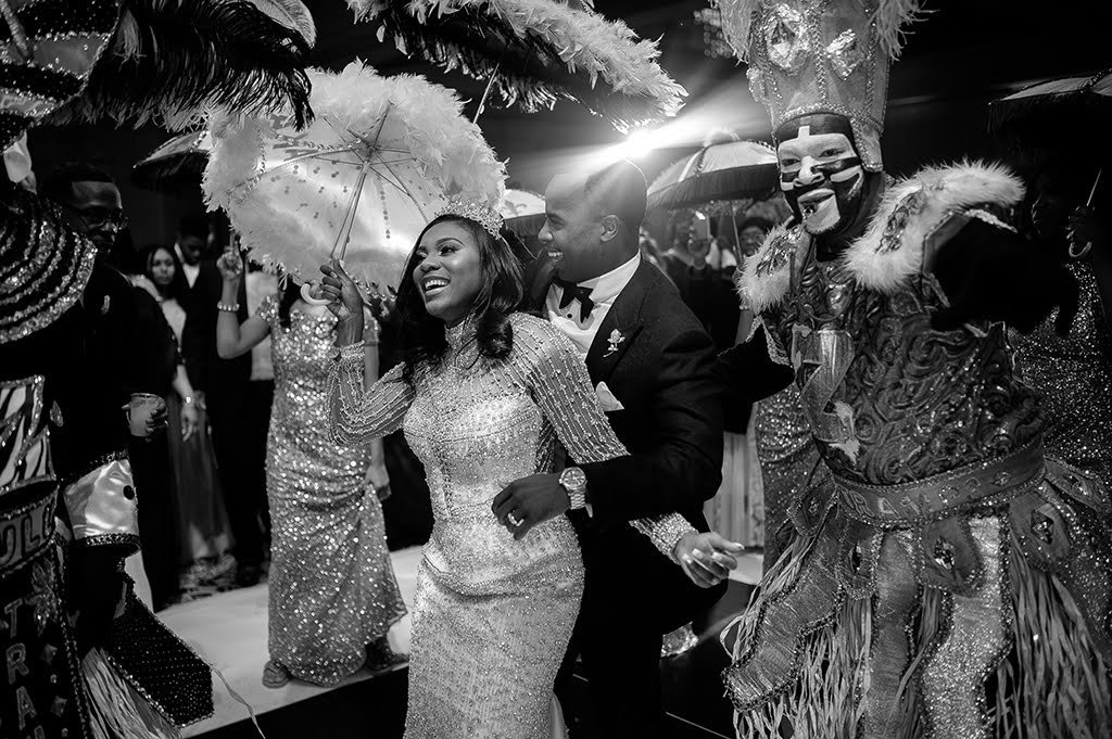 NOLA Second Line Wedding Reception