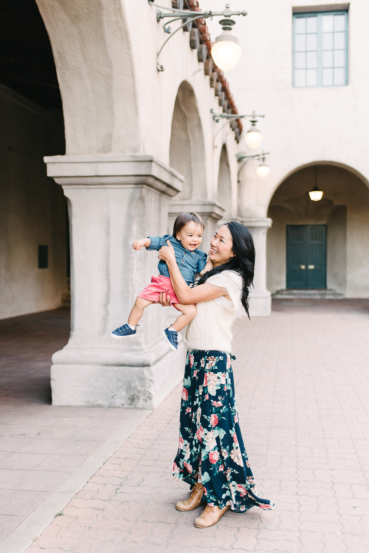 Balboa Park Family Photographer-swing me142