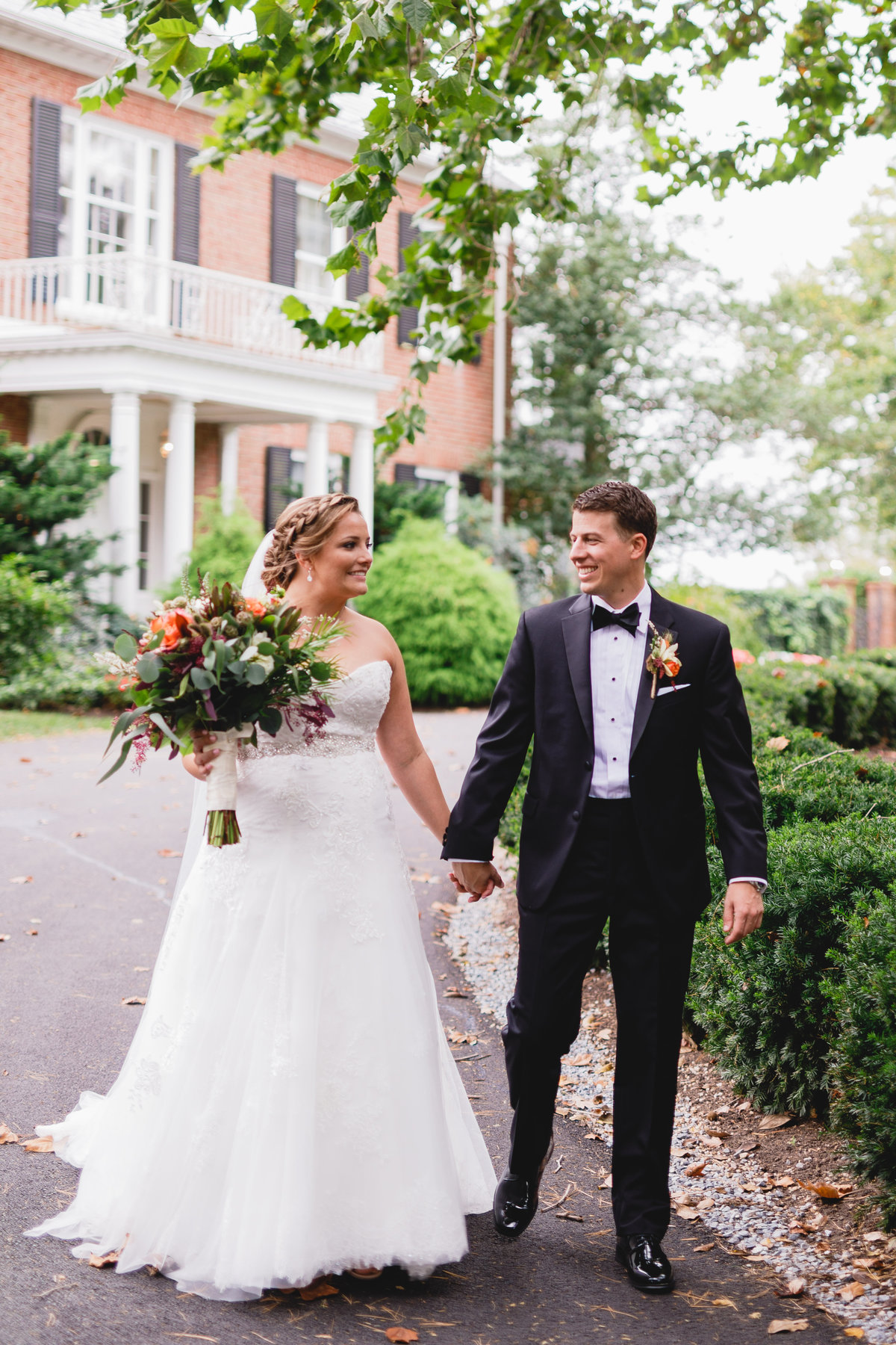 Maryland Wedding Photographer Brittland Manor Ceremony Tented Reception 059
