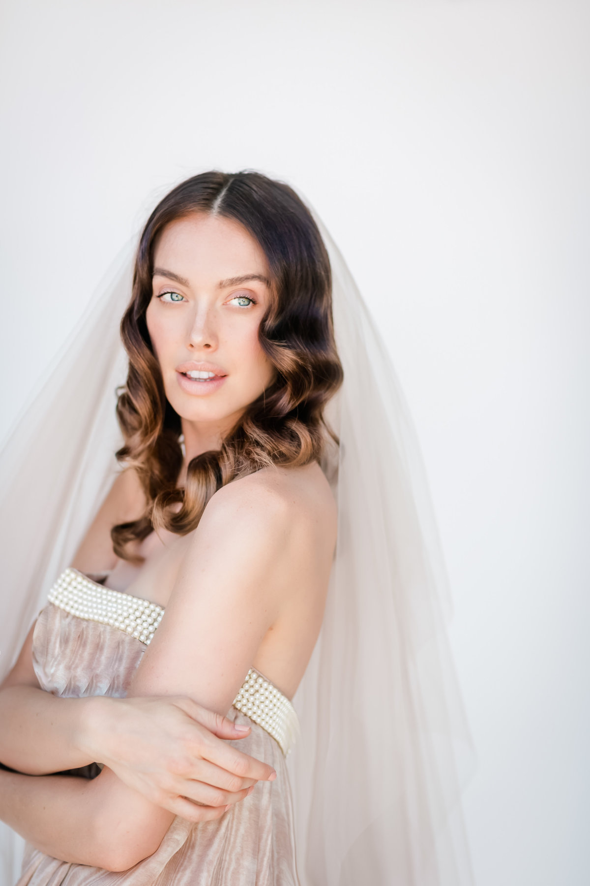 Bridal Crown Editorial Shoot Trace Henningsen Accessories_Valorie Darling Photography-