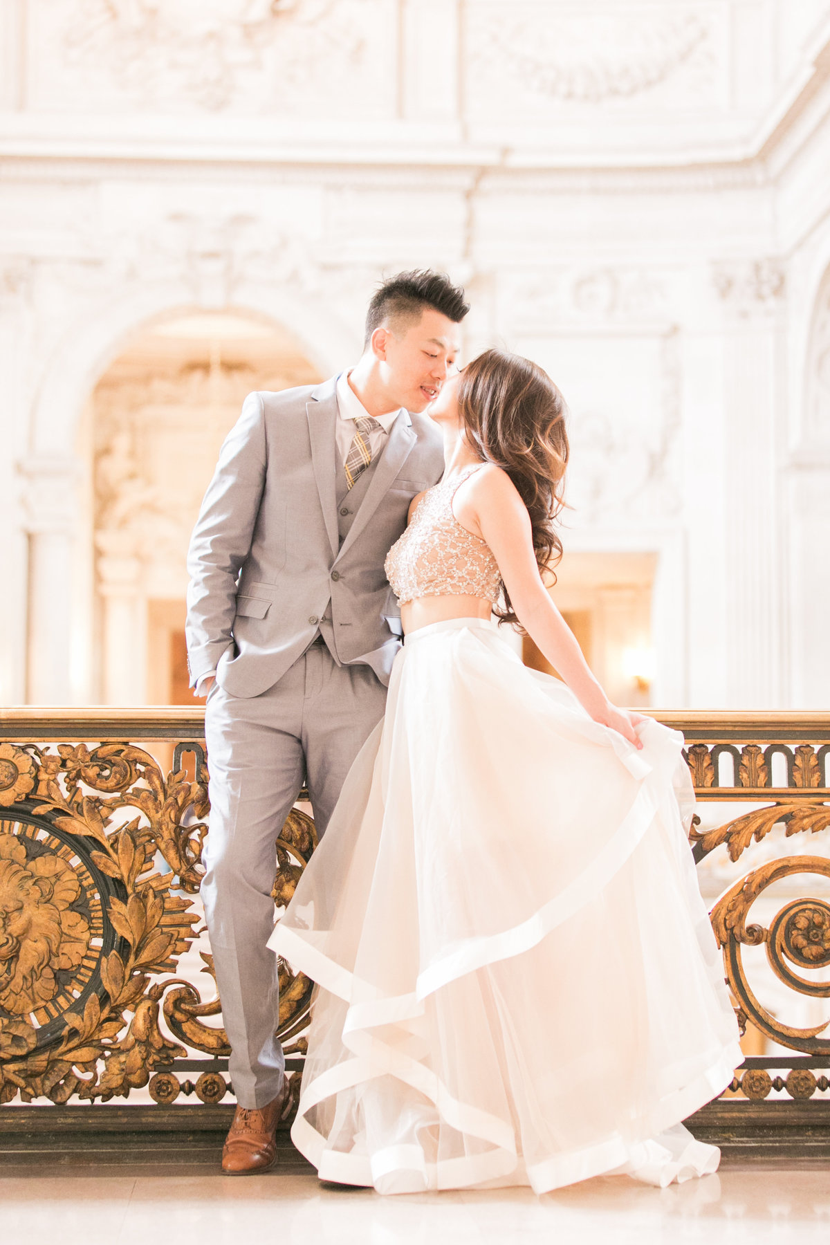 Romantic Wedding Photos SF