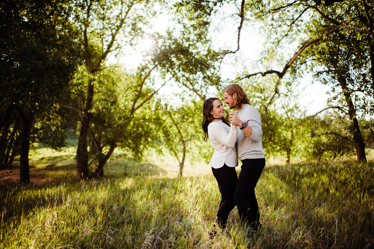Sunrise Engagement Session at Garden of the Gods - Randy and Ashley Studios - Bud and Katy-102