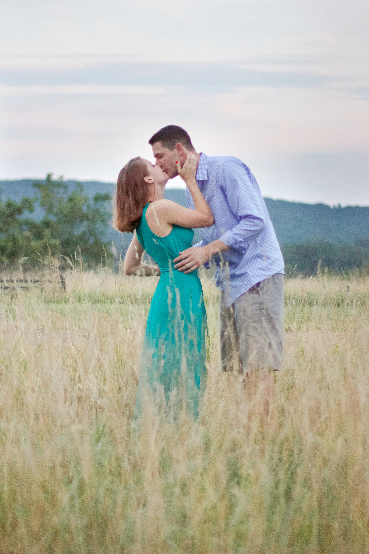 Carter + Katie Proposal in Warrenton