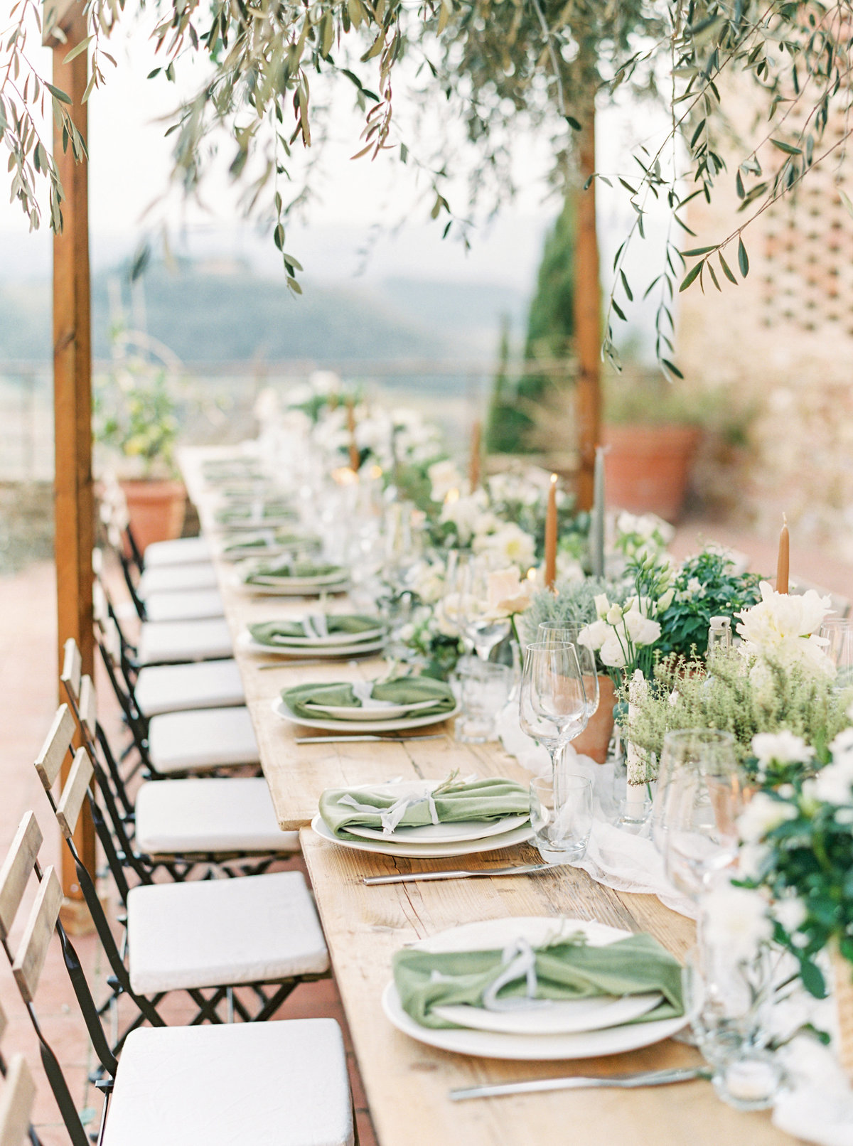 Tuscany Wedding Erica Nick - Lauren Fair Photography324