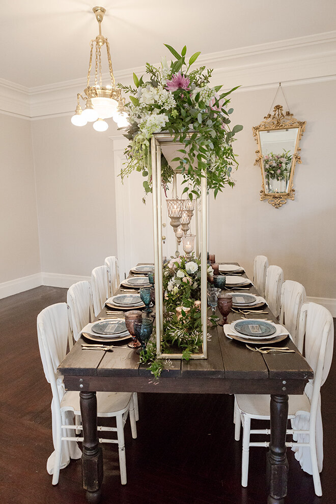 Vizcaya's Parlor offers a beautiful, intimate setting for your rehearsal dinner or small gathering.