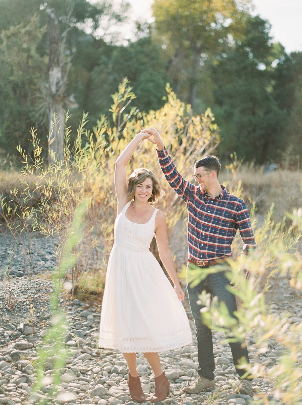 Samantha & Reid, husband and wife Montana wedding Photographers