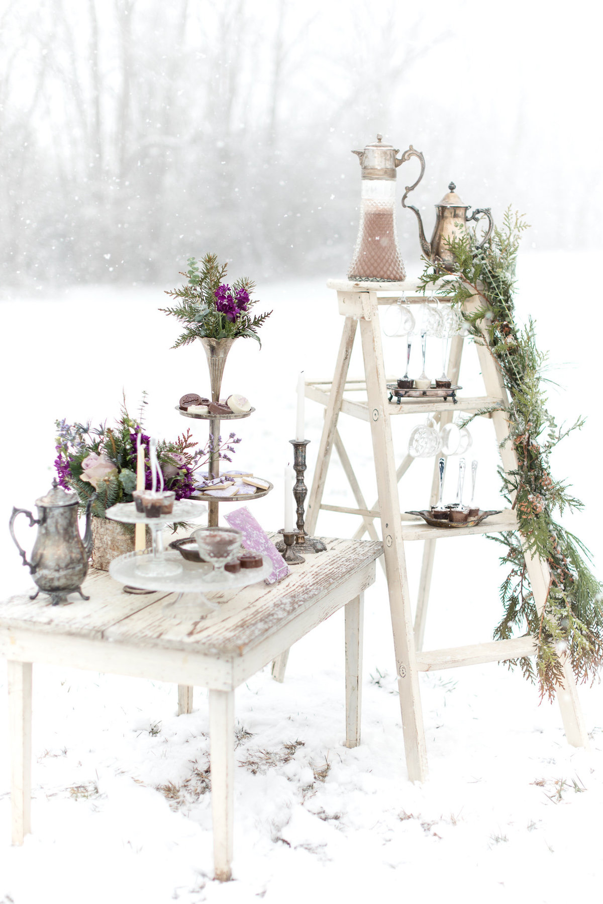 Tiffanys Bridal Purple Winter Styled Shoot-139