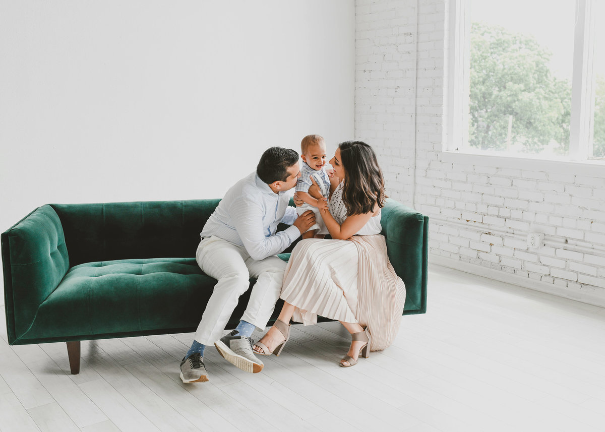 Dallas family session