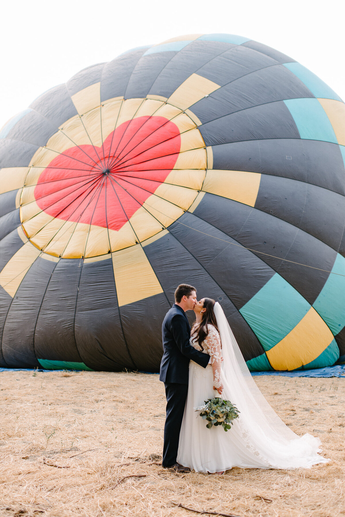 Hot Air Balloon Elopement Marie Monforte Photography-113