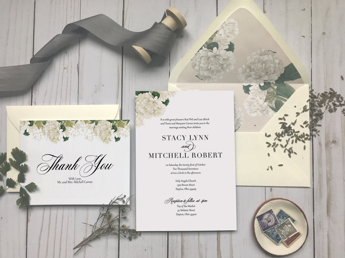 Custom Wedding Invitations in Columbus, Ohio
