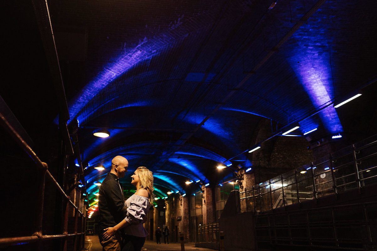 The Arches in Leeds pre Wedding Pictures