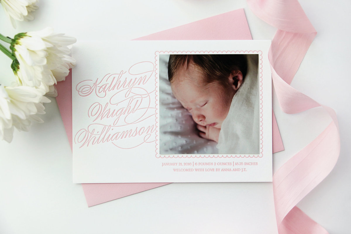 Letterpress-Birth-Announcement-baby-pink-classic