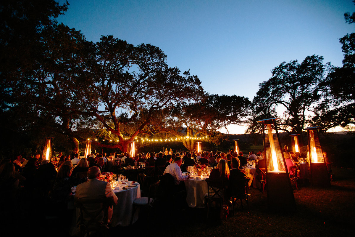 Outdoor wedding at Beltane Ranch in Sonoma.
