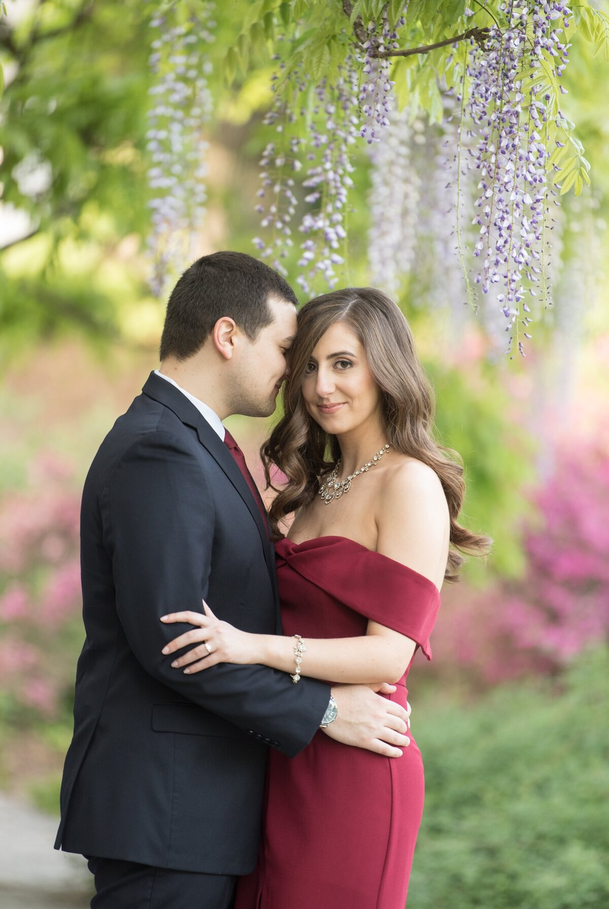 Biltmore Estate Engagement Session 13