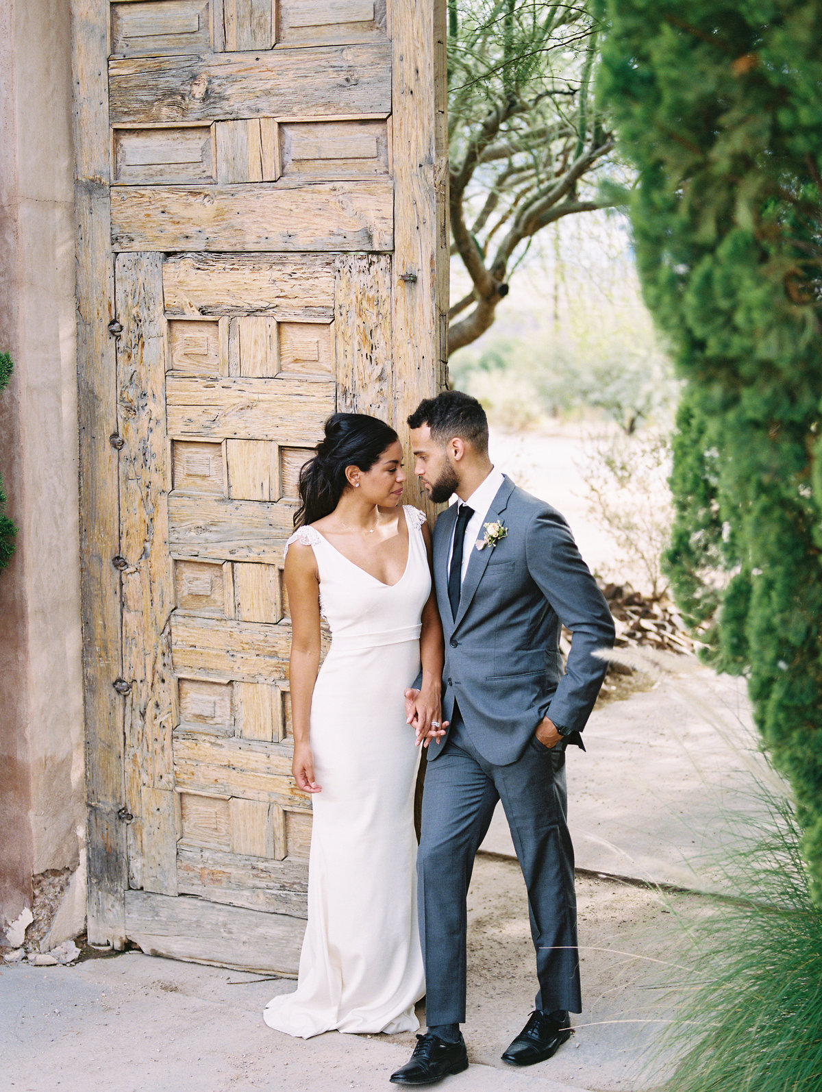 Intimate Wedding in Lajitas Texas-Big Bend-Bride and Groom